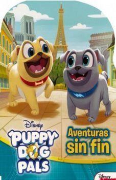 DISNEY LIBRO CON FORMA. PUPPY DOG PALS