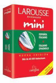 DICCIONARIO MINI ESPAÑOL / ITALIANO Y V.V
