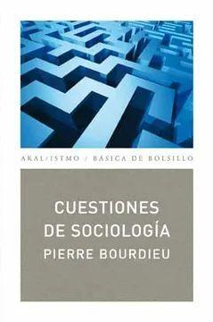 CUESTIONES DE SOCIOLOGIA (NUEVA EDICION)
