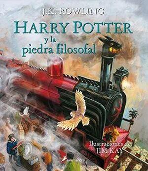 HARRY POTTER Y LA PIEDRA FILOSOFAL ILUSTRADO