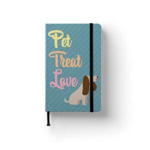 NOTEBOOK PET TREAT LOVE