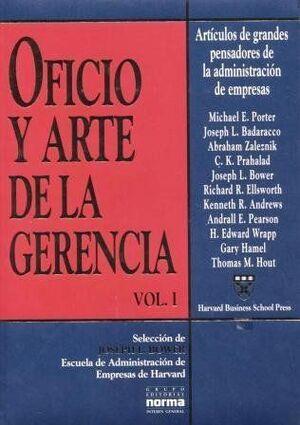 OFICIO Y ARTE DE LA GERENCIA T 1