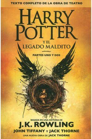 HARRY POTTER 8- EL LEGADO MALDITO