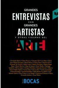 GRANDES ENTREVISTAS CON GRANDES ARTISTAS Y OTRAS FIGURAS DEL ARTE