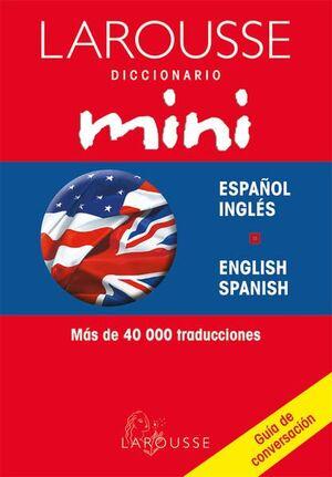 DICCIONARIO MINI INGLÉS - ESPAÑOL Y V.V. VINIL