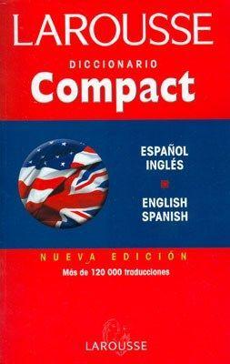 DICCIONARIO COMPACT INGLÉS - ESPAÑOL Y V.V.