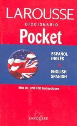 DICCIONARIO POCKET INGLÉS - ESPAÑOL Y V.V