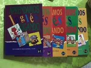 APRENDAMOS INGLÉS JUGANDO (COLECCIÓN X 6 LIBROS)